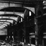 Building work inside Liverpool  St. Station. Nov. 1987