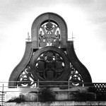 Blackfriars railway bridge. Oct. 1987