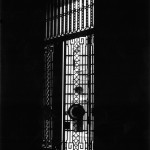 Old gate tucked into the Lloyds building. 1987