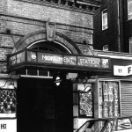 Entrance to Monument tube station, 1987