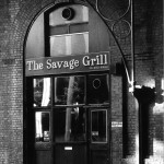 The Savage Grill, Cruched Friars. Sept. 1987