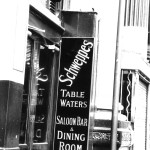 Sign near Leadenhall Market. 1987